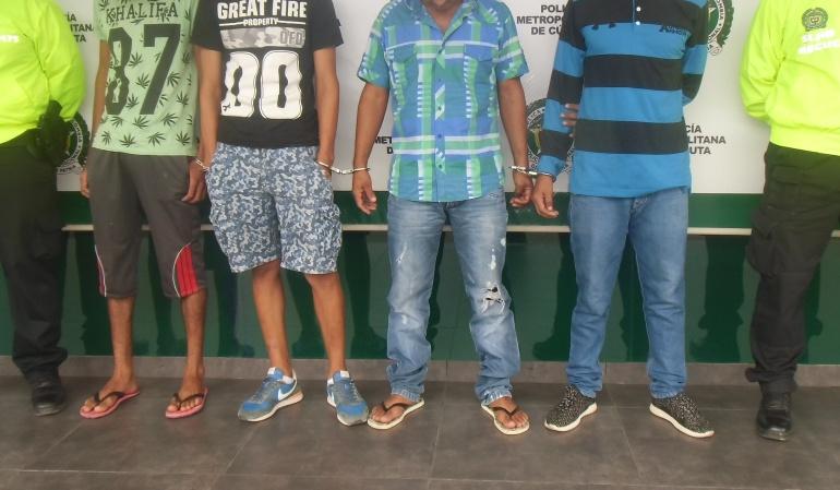 Cuatro presuntos integrantes del EPL fueron capturados en el Catatumbo