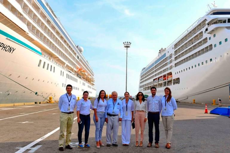 Cruceros en Cartagena: Cuatro cruceros dejan ganancia en Cartagena por casi un millón de dólares
