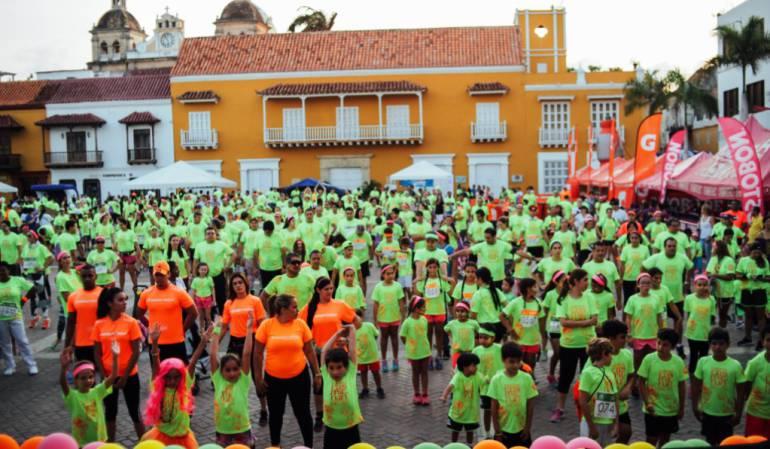 Carreras, deportes, Cartagena: Cartagena tendrá la tercera versión de la carrera COJOWA Cosmic Run