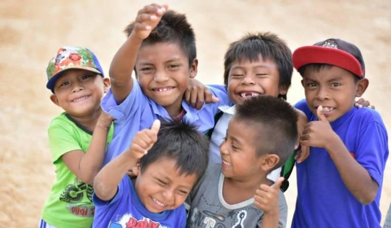 Niños de la Guajira