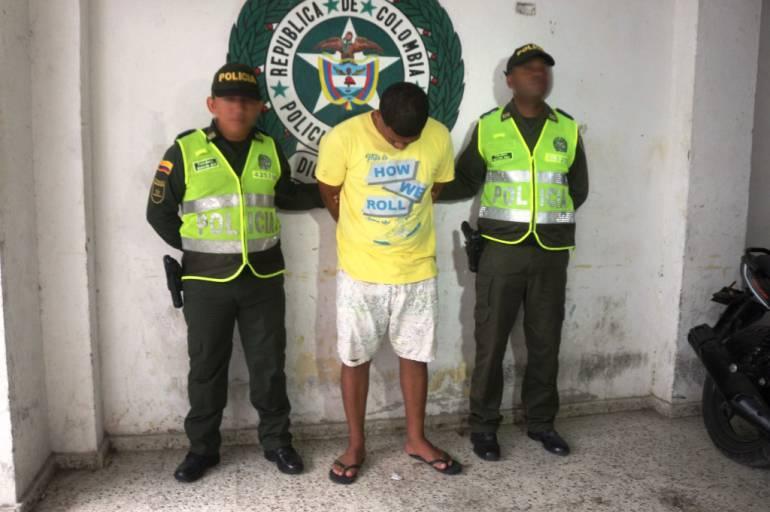 Capturado ´El Yasir´ por fuga de presos en el suroriente de Cartagena: Capturado ´El Yasir´ por fuga de presos en el suroriente de Cartagena