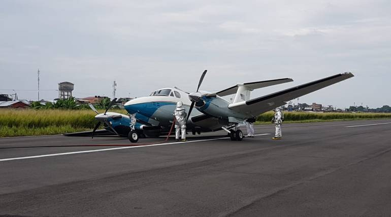 Aterrizaje de emergencia: Avión con personal de embajada de EE.UU. aterrizó de emergencia en Tumaco