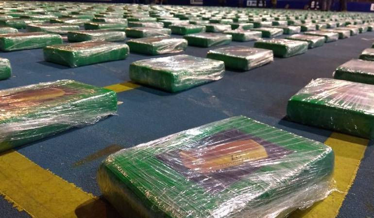 Droga Incautada: Media tonelada de droga fue incautada en la Costa Pacífica del Cauca