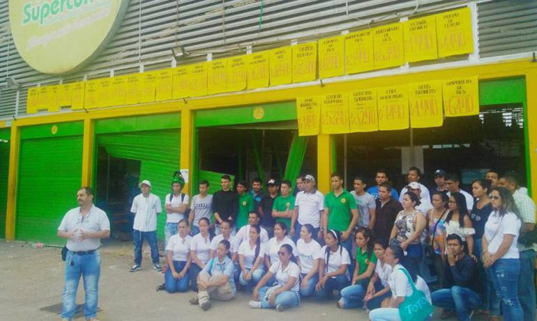 Supercundi: Compleja situación laboral para trabajadores de Supercundi en Tolima