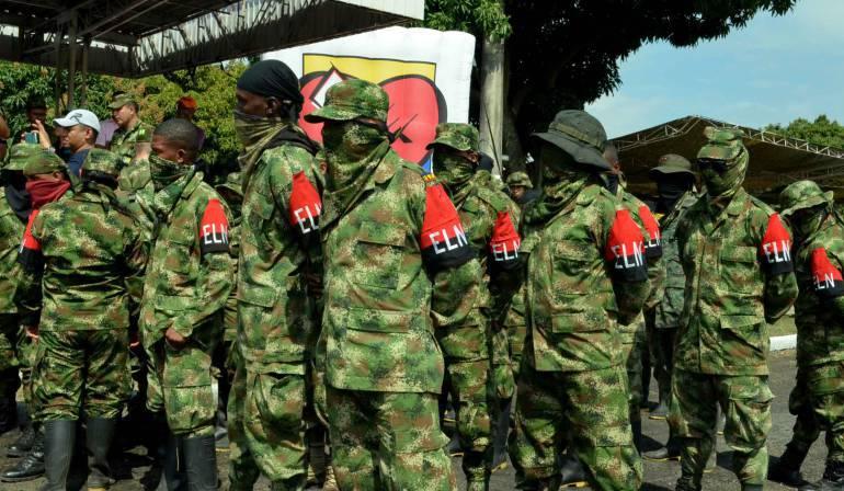 Desmovilizados del ELN en Risaralda: Este año se han desmovilizado en Risaralda 15 integrantes del ELN