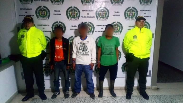 Indigenas a responder por hurto: Capturaron a tres indígenas que expulsaron del cabildo por cometer hurtos