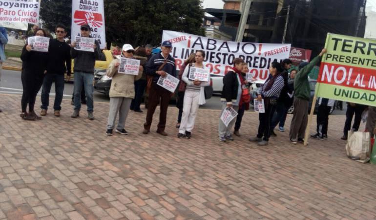 Marchas Boyacá Paro Cívico Tunja: Este miércoles habrá cacerolazo en Tunja en medio del Paro Cívico