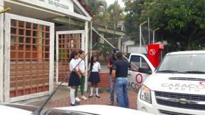 Caracol Radio originó la emisión de noticias de las 845 de la mañana desde la escuela José María Córdoba