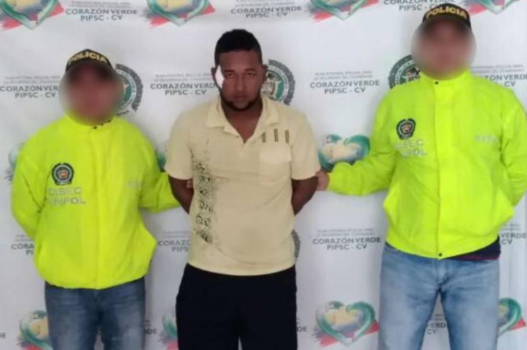 """Criminalidad en cartagena: Capturado """"el Burulo"""", por delito de tentativa de homicidio en Cartagena"""