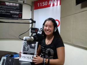 Sofía García Arcila, estudiante grado 11 Colegio San Luis Rey