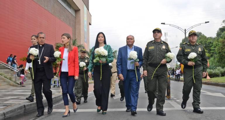 Policía, Antioquia, homenaje, niños, víctimas: Policía Antioquia rinde homenaje a los niños víctimas de delitos