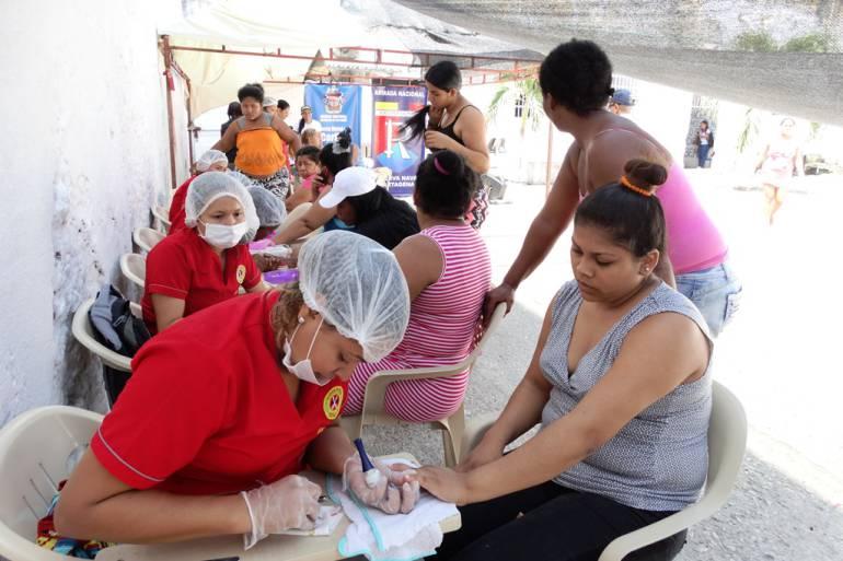 Jornada de salud y bienestar en la cárcel distrital de mujeres de Cartagena: Jornada de salud y bienestar en la cárcel distrital de mujeres de Cartagena