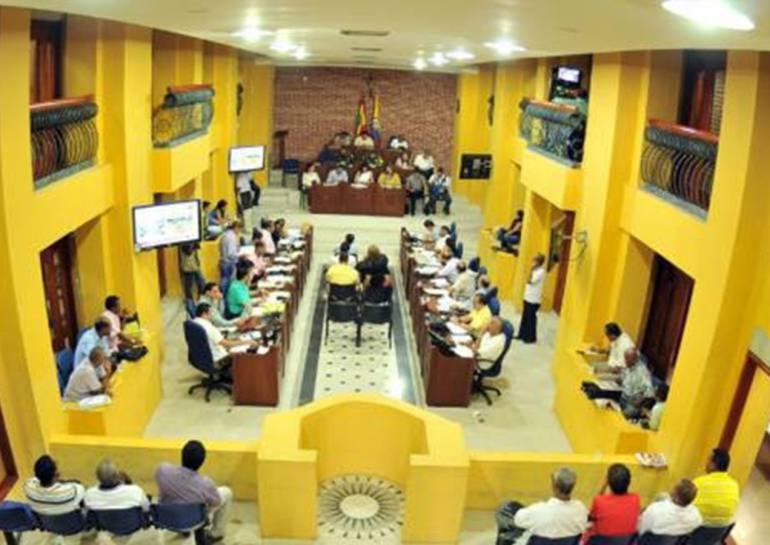 Concejo de Cartagena debate sobre impuesto de avisos y tableros: Concejo de Cartagena debate sobre impuesto de avisos y tableros