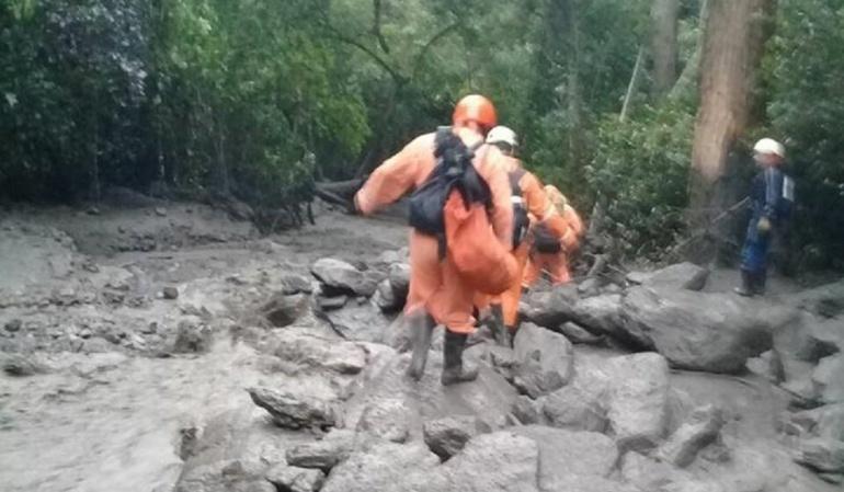 Niña perdida por creciente de rio en Tolima: Avanza búsqueda de menor desaparecida por lluvias en Ibagué