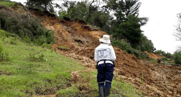 Alerta, roja, municipios, Antioquia: Alerta roja en 28 municipios de Antioquia por riesgo de deslizamiento
