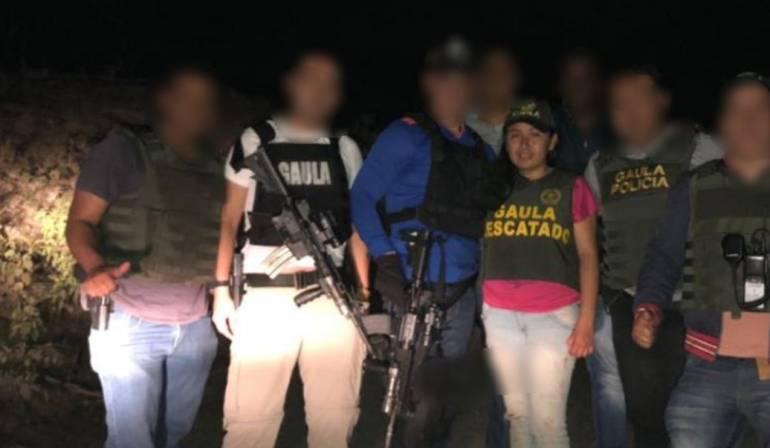 rescate de universitaria plagiada en Nariño: Rescatan a joven plagiada en Nariño