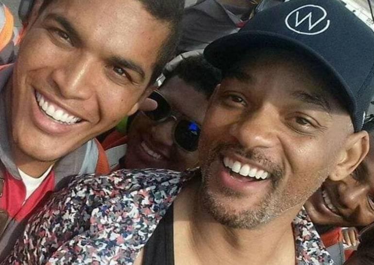 Película de Will Smith lleva millones a Cartagena