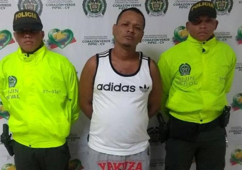 """Capturaron a """"Pacho Molla"""", presunto microtraficante en Magangué: Capturaron a """"Pacho Molla"""", presunto microtraficante en Magangué"""