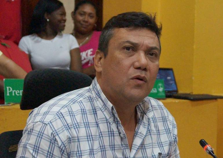 Javier Curi renunció a la segunda vicepresidencia del Concejo de Cartagena: Javier Curi renunció a la segunda vicepresidencia del Concejo de Cartagena
