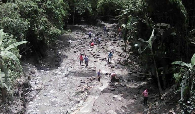 Deslizamientos: Varias vías de la zona rural de Ibagué afectadas por deslizamientos