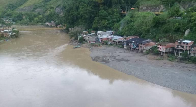 Así está la inundación en zona de Hidroituango — EN FOTOS