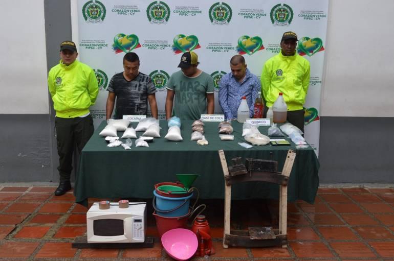 Laboratorio de cocaína en apartamento de Los Alcázarez: En Los Alcázares hallan laboratorio para procesar cocaína