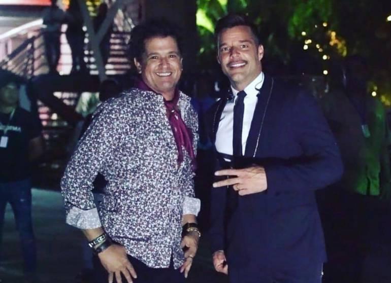 Carlos Vives y Ricky Martin emocionan a Valledupar