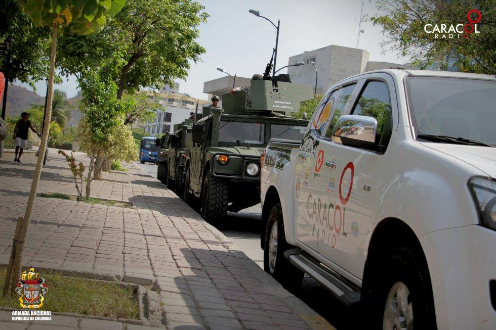 El móvil de la expedición recorrerá más de 20 mil kilómetros por todo el Caribe.
