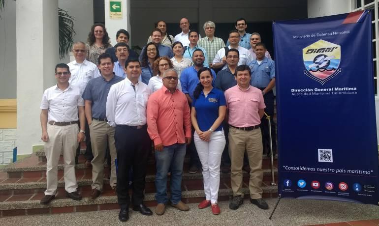 Dimar realizó en Cartagena reunión de expertos en manejo de datos oceánicos