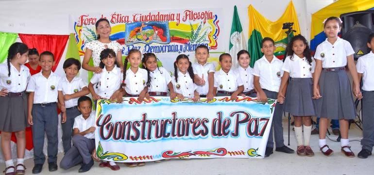 Escuela Normal Superior Montes de María realizó foro Cultura de Paz