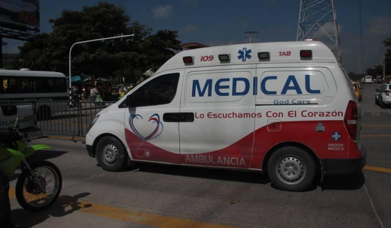Ambulancias Problemas Mecánicos: En Bogotá 25 ambulancias del Distrito tienen problemas mecánicos