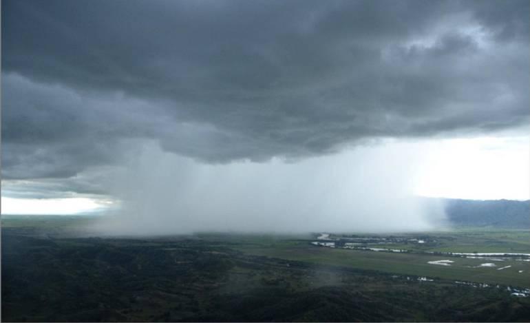 Lluvias en mayo en el Valle del Cauca: Lluvias entre 15 y 18 de los 31 días de mayo