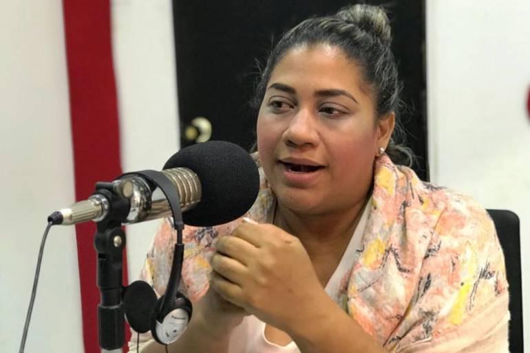 Lía Muñoz renunció a su aspiración a la alcaldía de Cartagena