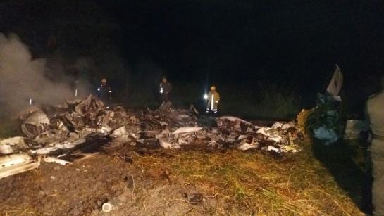 Cuatro muertos deja accidente de avioneta en Ibagué