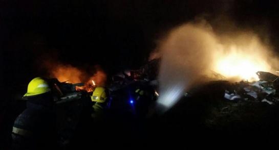Avioneta de la Policía se accidenta en Ibagué