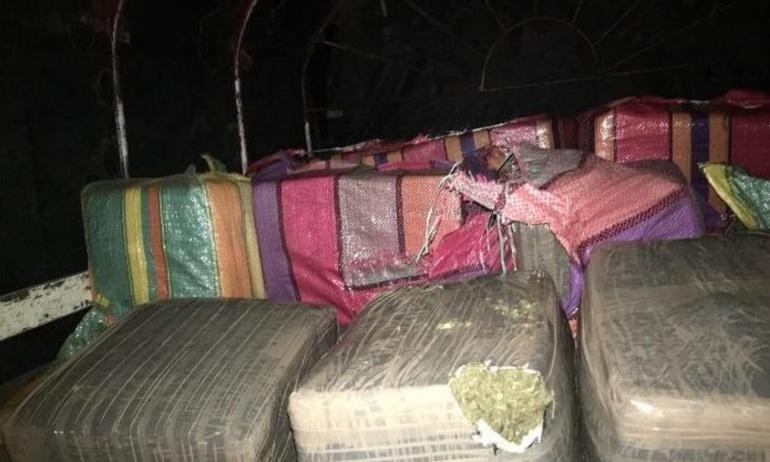 Narcotráfico: Incautan más de 2 toneladas de marihuana de alta calidad en Cauca
