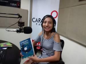 Daniela Castillo ganadora del concurso nacional de cuento