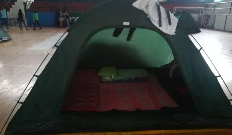 Así se vive en un refugio para desplazados del Catatumbo