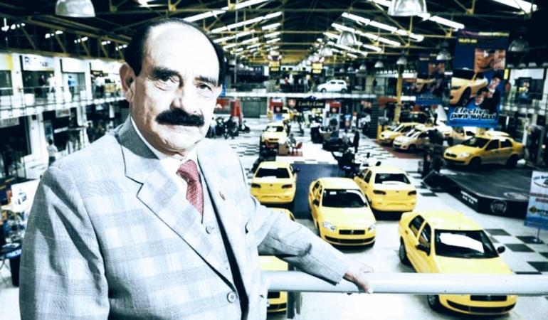 Uldarico Peña, empresario de Taxis