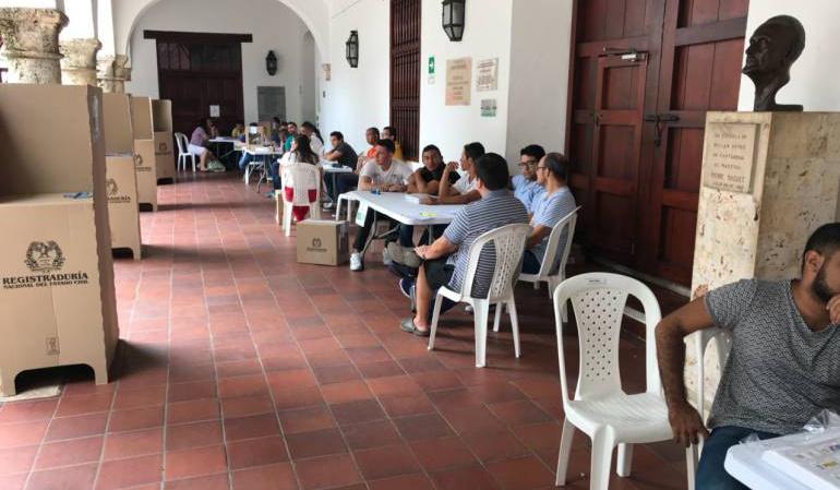 Cartagena elecciones: Dos denuncias de compra de votos reportan en Cartagena