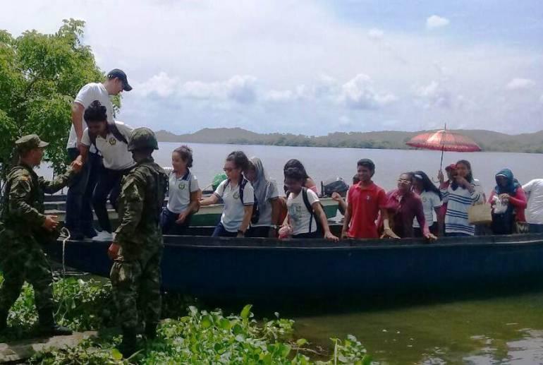 Sur de Bolívar Colombia: Plan Horus promueve la unión y sana convivencia en el Sur de Bolívar