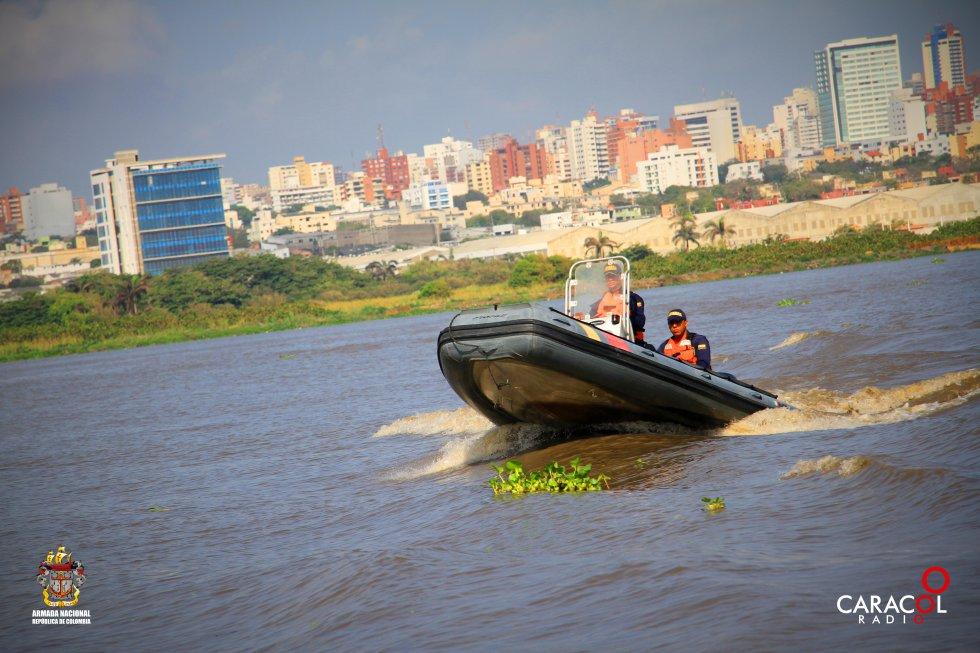 La Armada Nacional acompaña la eco-expedición de Caracol Radio