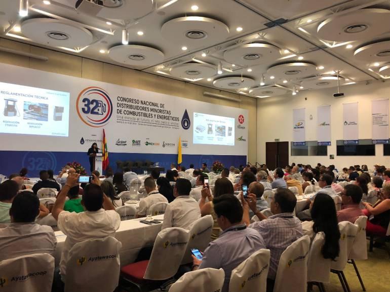 Distribuidores minoristas Cartagena: Concluye en Cartagena Congreso de distribuidores minoristas de combustibles
