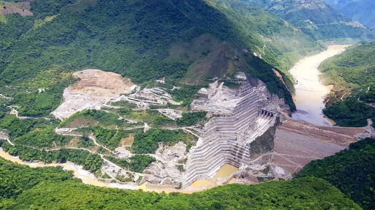 Por destape de un túnel en Hidroituango, ordenan evacuación preventiva