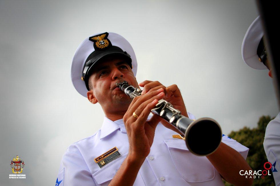 La Armada Nacional, pieza fundamental del Viaje al Corazón del Caribe