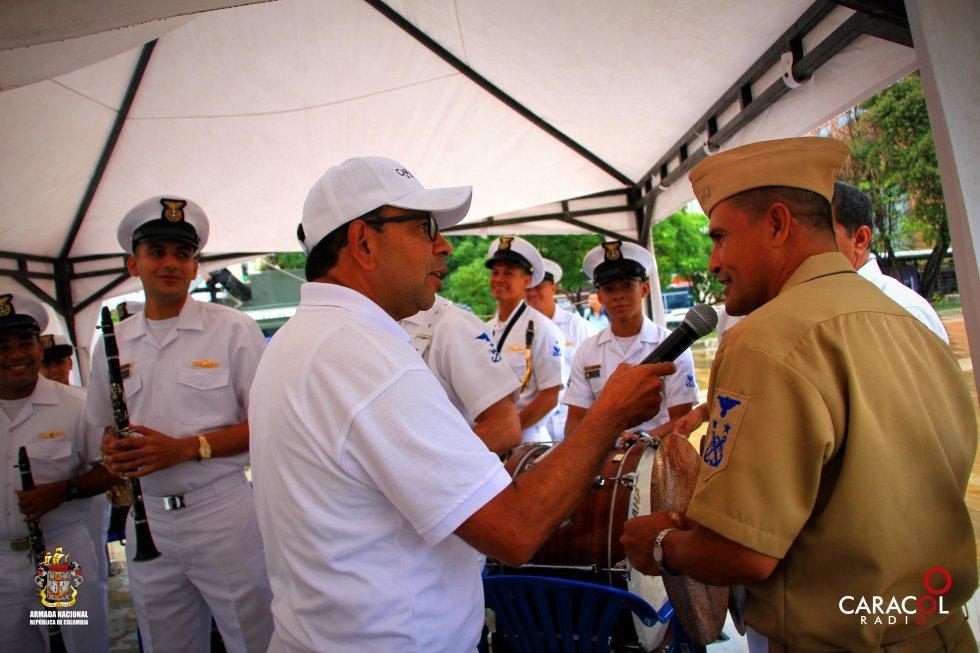 Martín Tapias, director regional de Caracol Radio, lidera la expedición con corte ambiental