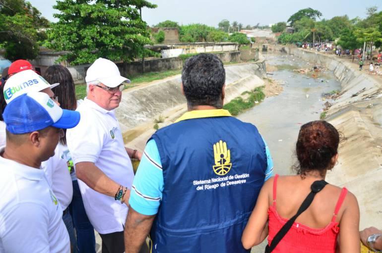 A 800 familias ascienden los damnificados por lluvias en Soledad