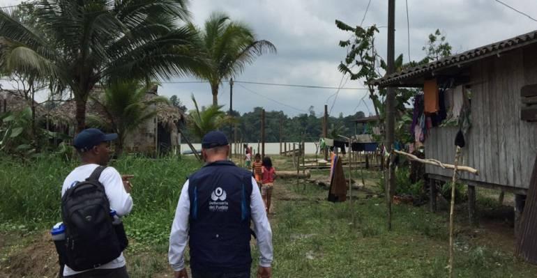 Asamblea en Río Naya por desaparecidos: Asamblea y movilización en Río Naya por desaparecidos