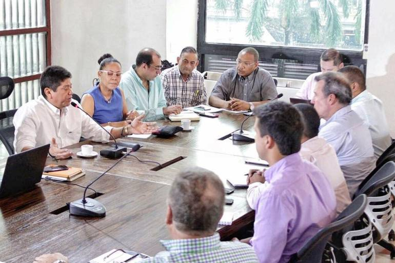 Alcaldía de Cartagena: Instalan comisión de empalme entre alcalde entrante y saliente de Cartagena