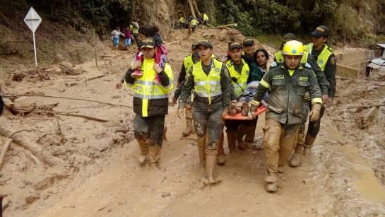 BUCARAMANGA SANTANDER VÍAS CÚCUTA LLUVIAS: Tres muertos provocan aludes en la carretera a Cúcuta